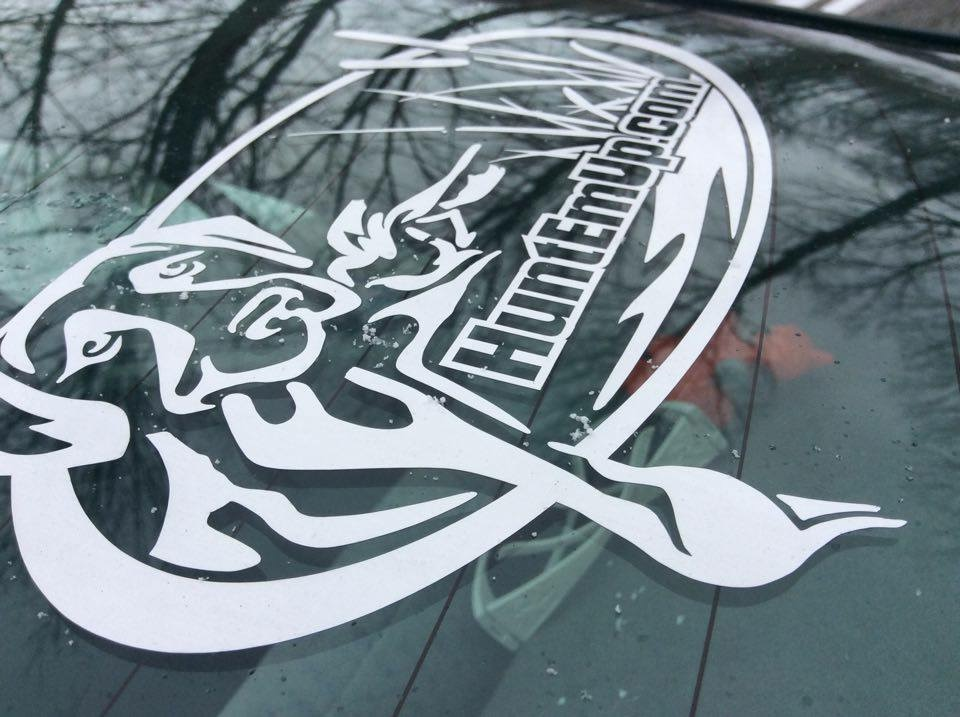 HuntEmUp.com Window Decal