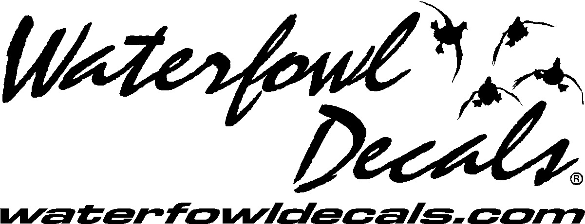 Waterfowl Decals and Custom Outdoor Related Cut Vinyl Decals and more.